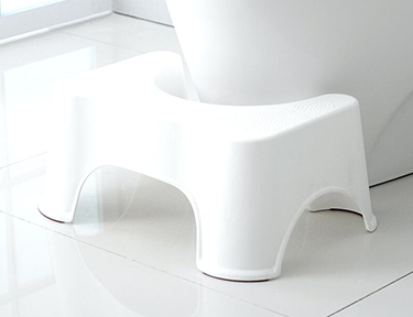 The Best Toilet Height For Seniors is a Bathroom Footstool