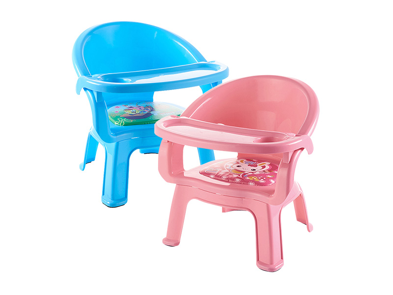 Child whistle chair with dinner plate (hr0196)