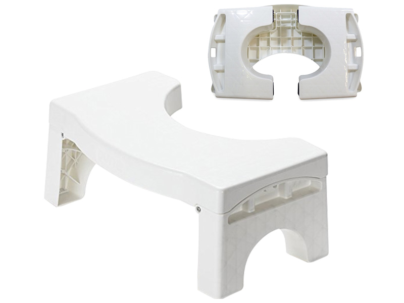 Folding toilet stool (hr0182)