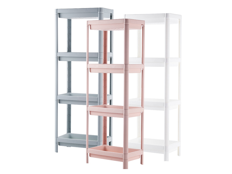 Four layers plastic shelf  (hr0407)