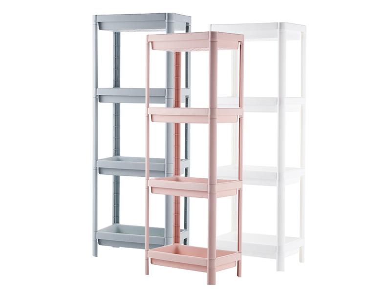 Four layers plastic shelf  (hr0407)