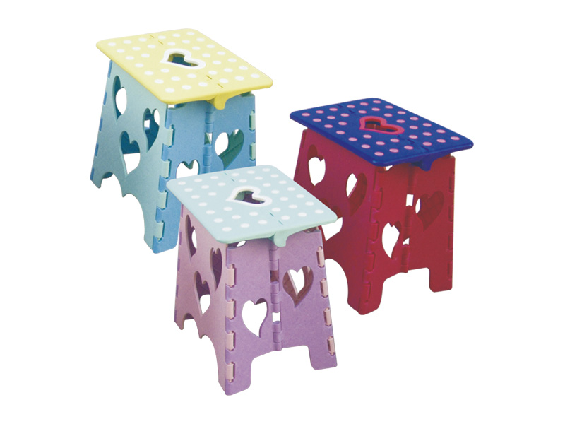 Lightweight and portable Square folding stool(medium) (hr0014)