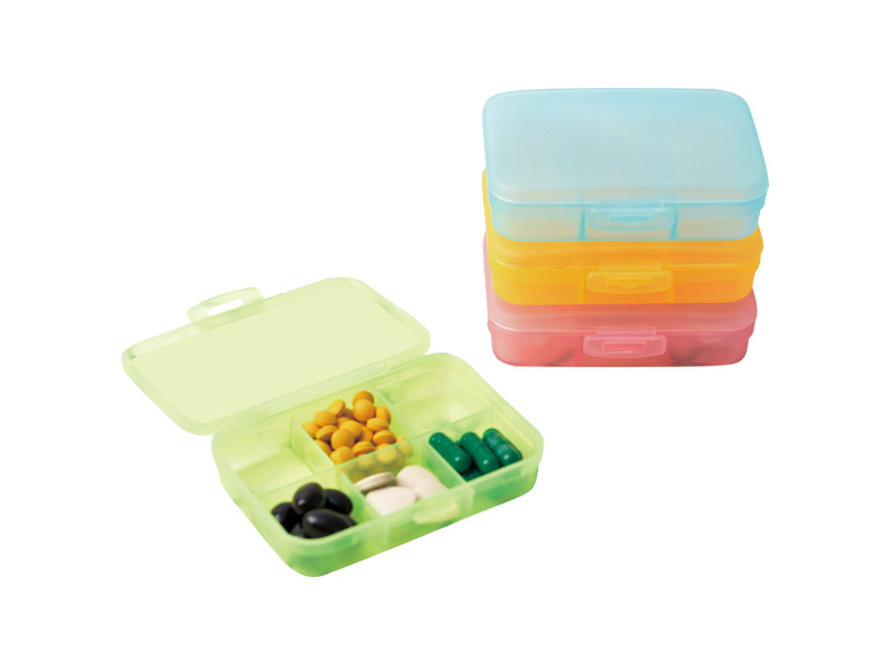 6 cases Pill Box (hr0293-1)