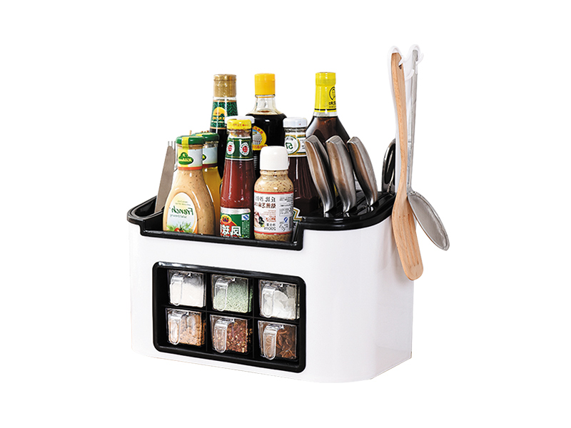 What are the common kitchen storage racks?