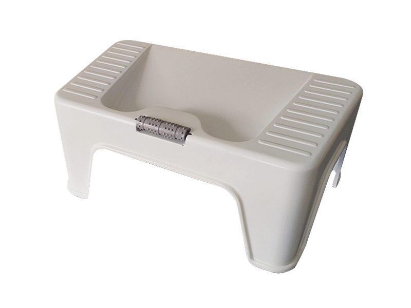 Foot rest stool with massager (hr0330)