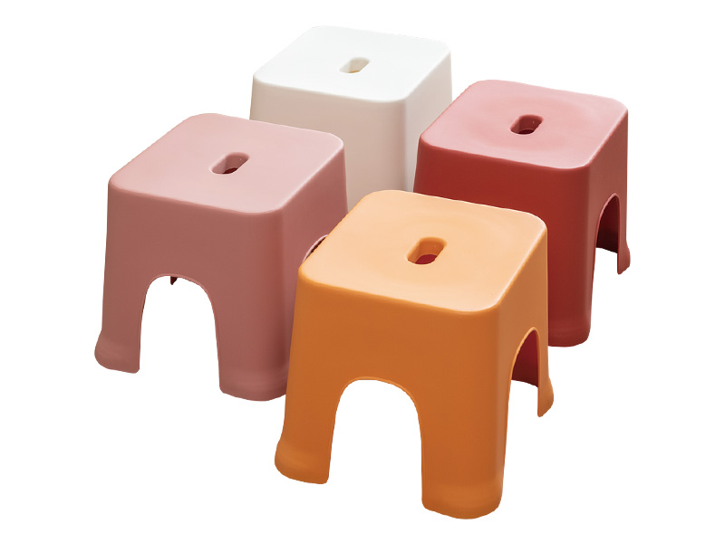 Plastic square stool(hr0342)