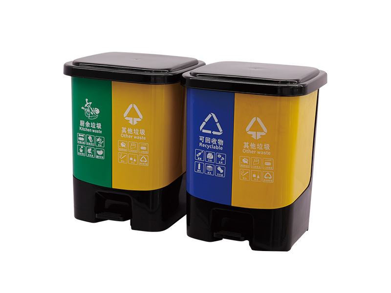How to extend the service life of plastic garbage collection bins?