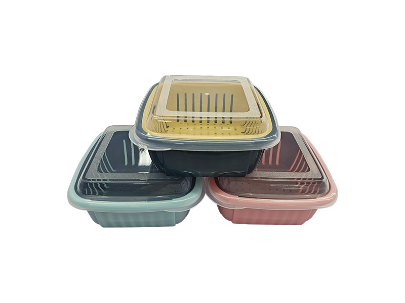 Draining basket with cover (hr0460)