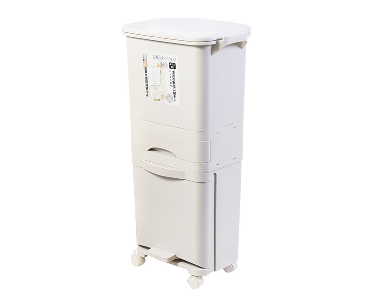 Three layers classified dustbin (42L)  (hr0459)